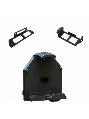 A140 - Havis Vehicle Cradle with Tri-Passthrough & Bracket